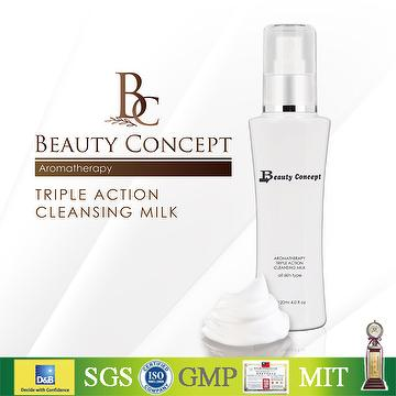 BEAUTY CONCEPT TRIPLE ACTION CLEANSING MILK