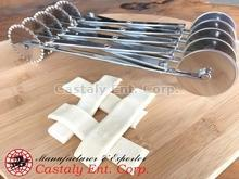 Bakery Tools Two Type Blade Roller Pastry Cutter
