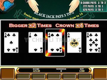 Royal match 21 blackjack machine