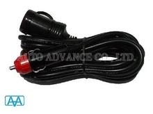 12 feet car cigarette lighter power cord, car electronics, car charger, car adapter, car acccessory