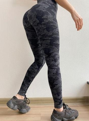 Taiwan Yoga Pants for Women High Waisted Gym Sport Camou