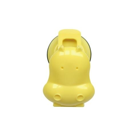 HIPPO CLIP-PASTEL YELLOW