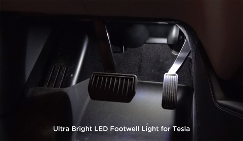 Tesla model 3 Footwell light