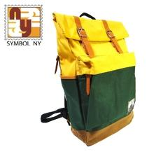 BP-0538 Colorful Canvas Backpack