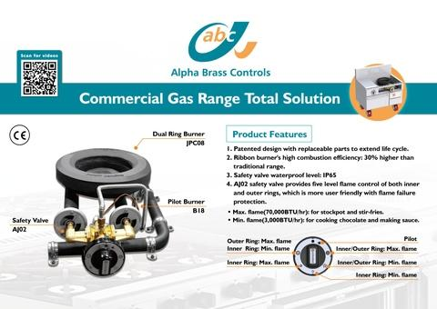 Commercial Gas Range Solution