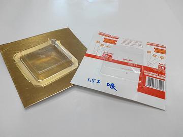 Water based blister packing varnish