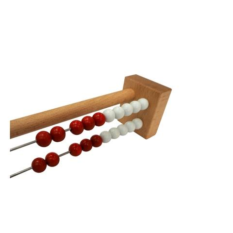 Wooden Abacus with circle beads