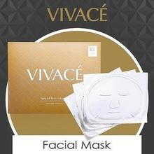 make-up cosmetic hyaluronic acid anti-aging mask beauty face mask(3pcs)