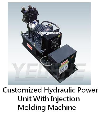Customized Hydraulic Power Unit With Inverter For Injection Molding Machine