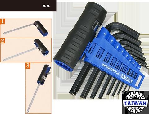 10 pcs 2.5mm L Wrench Hex key Allen Wrench Hexagon Key Tool