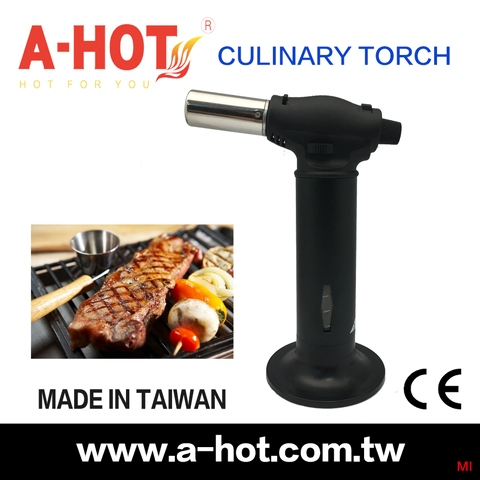 MADE IN TAIWAN	AUTO IGNITION KITCHEN FOOD TORCH