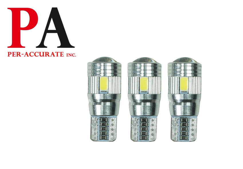 Tail Light Bulb Lens 6SMD T10 LED 5630