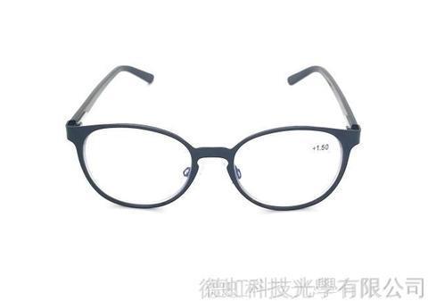 金屬抗藍光/老花閱讀/太陽眼鏡(STB004) 砂黑