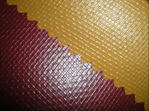 High-Quality PVC Tarpaulin Synthetic Leather (Unicolor)