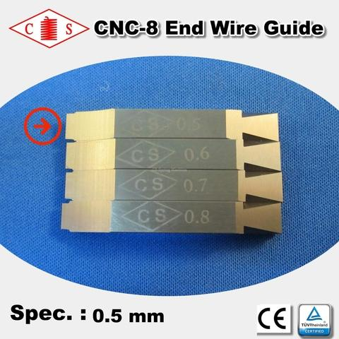 CNC-8 End Wire Guide 0.5 mm