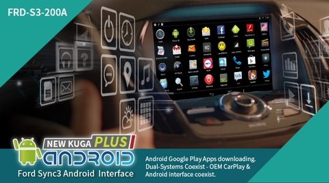Ford SYNC3 Android Interfaces