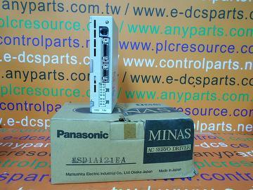 PANASONIC AC SERVO DRIVER MSD1A121EA