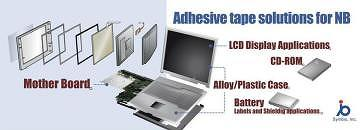 Adhesive tape solutions for NB