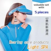 Epurifys-Light SPA /UV UPF50+Wearing care products blue