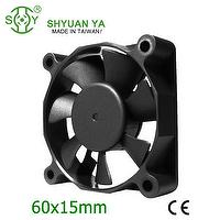 Small 5v 12v 24v dc powerful cooling fan 60mm axial flow fan
