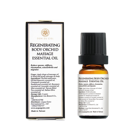 Don Du Ciel Regenerating Massage Essential Oil 10 ml