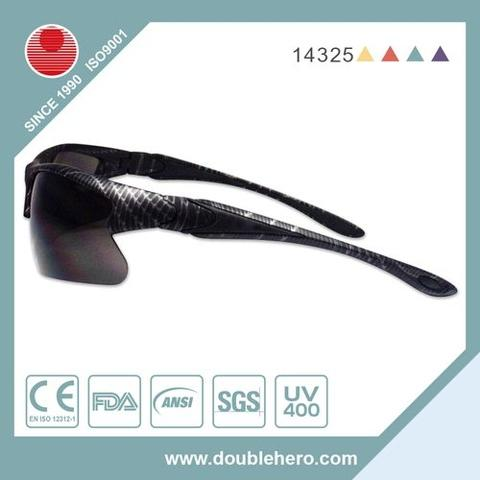 Black UV 400 CE cycling sports sun glasses