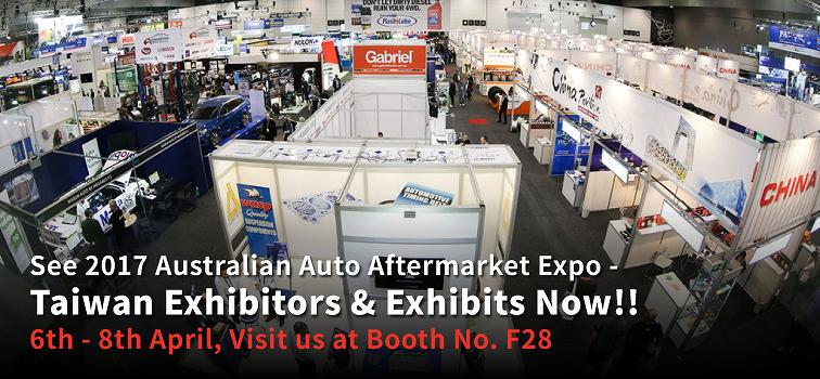 Taiwan Exhibitors and Exhibits - Australian Auto Aftermarket Expo 2017