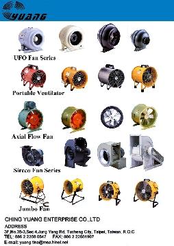 Industry Blower, Exhaust Blower, Jumbo Fan, Axial Fan
