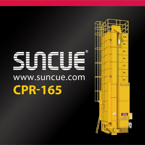 CPR-165 Rapeseed, Pulses Grain Dryer