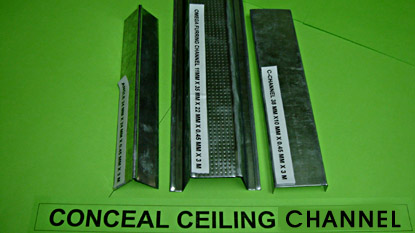 CONCEAL CEILING CHANNEL