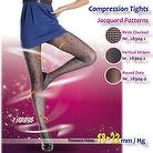 Compression Thin Jacquard Tights,Compression Stockings 18~22mm/Hg (140D)