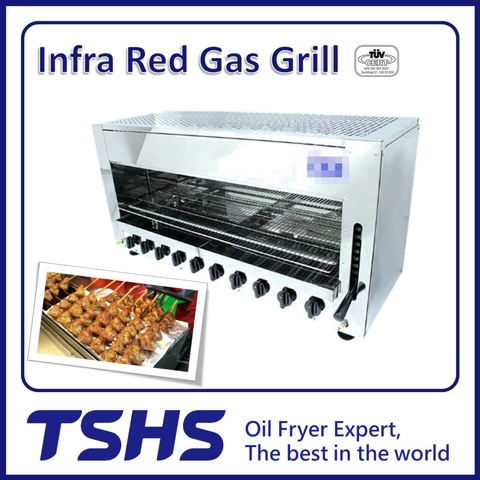 Best Quality Convenient Fish LPG Grill Equipment