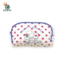 Customized Canvas Cosmetic Bag Snoopy Taiwan Print Supplier