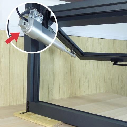Demo on automatic window opening system with KST-A02-H - 1