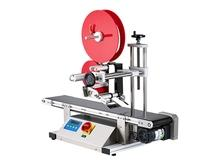 Tabletop auto labeler for plastic box