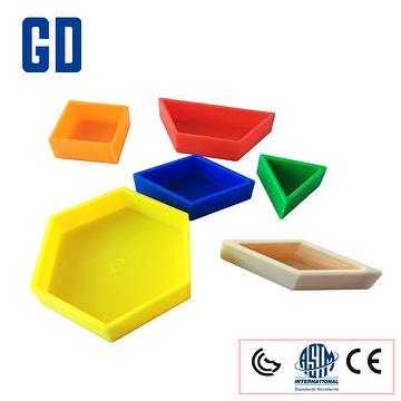 Toys Pattern block tub 250pcs