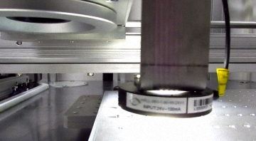 CCD Camera Automatic Positioning / Vision Recognition Laser Marking System