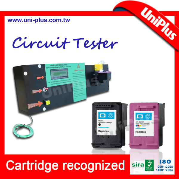 Máquina de prueba del circuito eléctrico del cartucho de inyección ...