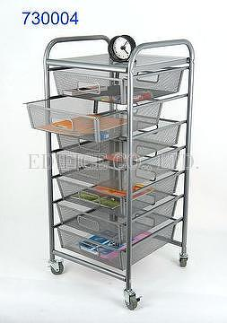 7 Tier Mesh Drawer Storage Cart