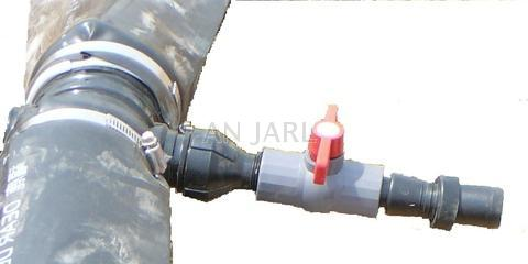 Taiwan ABS Black T Fitting assemble in sprinkler hose irrigation