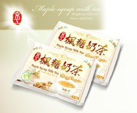 【King Kung】Maple Syrup Milk Tea (22g x 10 packs)