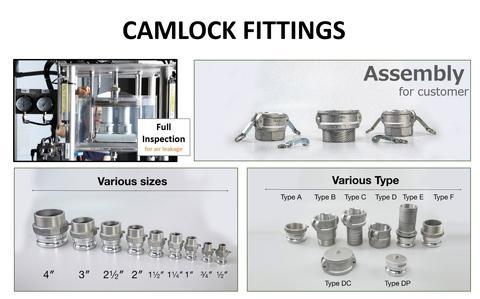 Camlock Hose Couplings