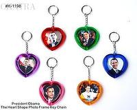 The Obama Photo Frame Key Chain
