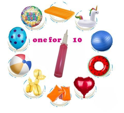 Easy balloon pump for kids