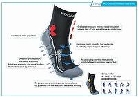 """KoolFree"" Multi-Functional Sports Compression Ankle Socks (23~32mm/Hg) 78013 (New Version)"