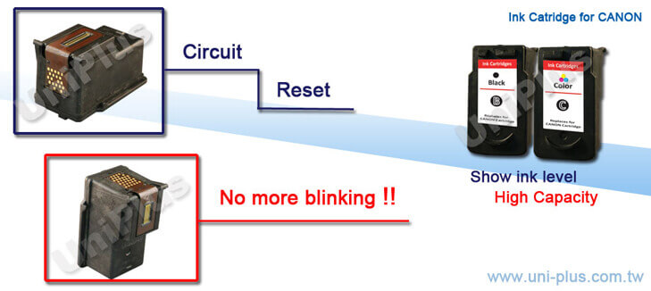 Canon ink cartridge reset circuit-Uniplus
