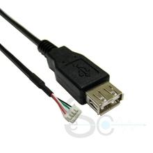 USB A Female to 4 Pin Housing Cable
