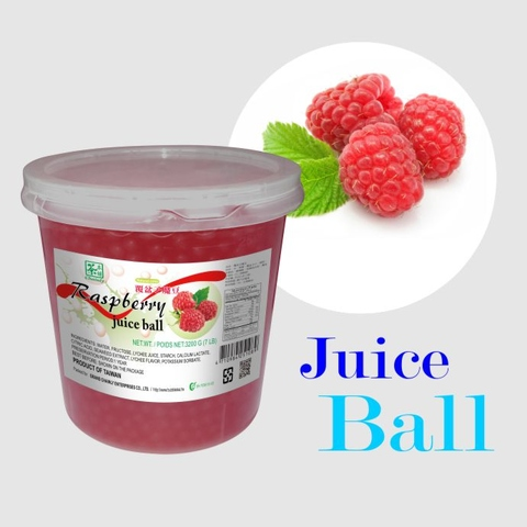 taiwan raspberry flavoured juice ball natural color taiwantrade com