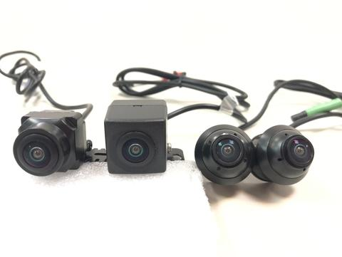 4 Wide-Angle Lenses (Front / Rear / Left / Right Lenses)