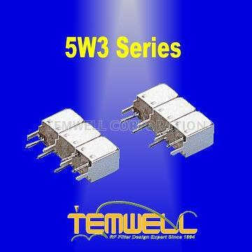 Helical Bandpass Filter- 5W 3 pole Fillter